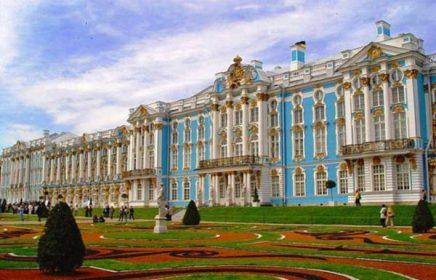 Выездная экскурсия «Царское село с посещением Екатерининского дворца и янтарной комнаты»