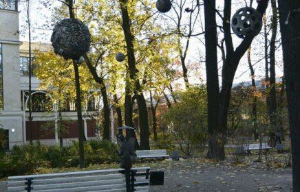 Измайловский сад в С.-Петербурге (Сад Буфф)