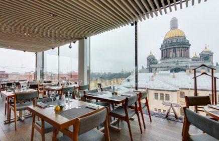 Панорамные рестораны в Санкт-Петербурге