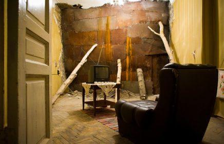 Инсталляция U-Space «Мой дом – моя крепость?»