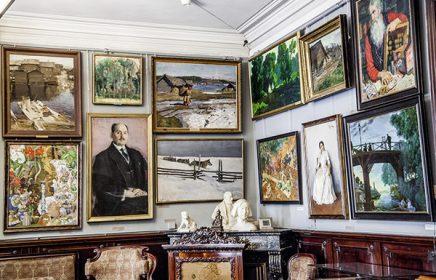 Постоянная экспозиция Музея-квартиры И.И. Бродского