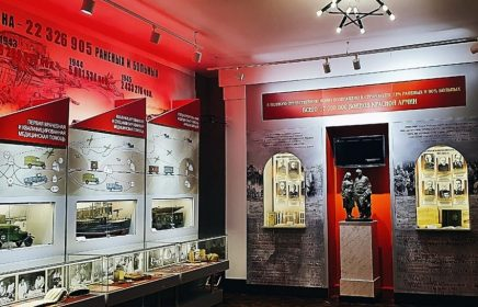 Выставка «Военно-медицинская служба Красной армии»