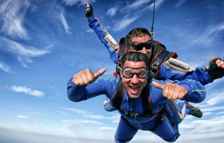 Где можно прыгнуть с парашютом: ТОП-7 лучших парашютных клубов Санкт-Петербурга и области