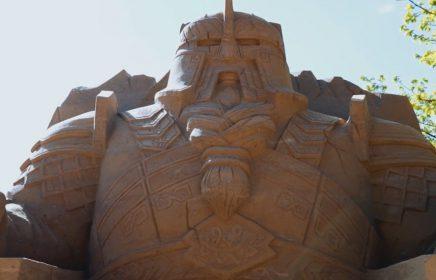 Фестиваль песчаных скульптур 2021 «Мир без границ»