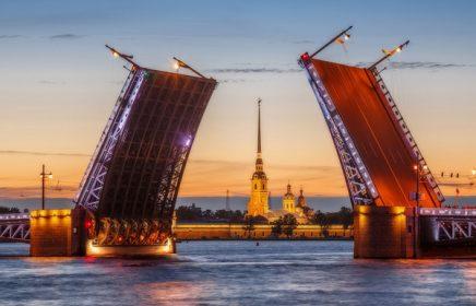 Звуковое шоу «Поющие мосты» 2019