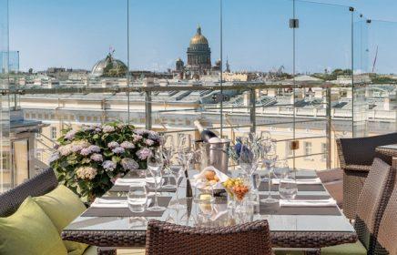 Рестораны на крышах в Санкт-Петербурге