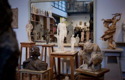 Постоянная экспозиция мастерской Аникушина «Скульптурная мастерская»