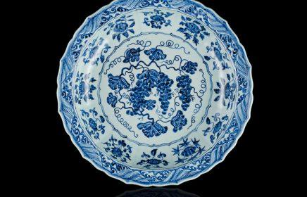 Выставка керамики «Сокровище персидской принцессы: китайское фарфоровое блюдо из коллекции Аль-Тани»