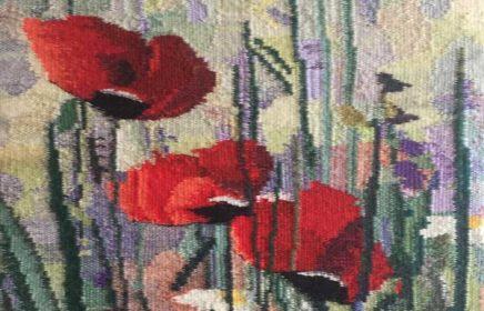 Выставка Галины Калининой «Ткачество, вышивка, батик»