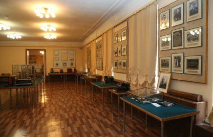 Постоянная выставка «Историко-мемориальный зал А.С. Попова»
