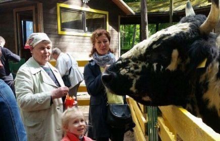 Контактный зоопарк «Радуга» в Зеленогорске