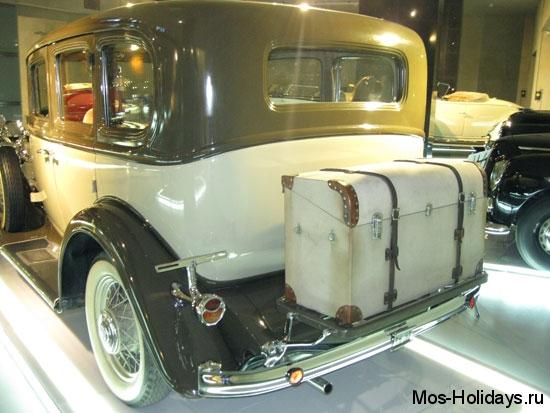 Бьюик в музее ретро автомобилей Автовилль