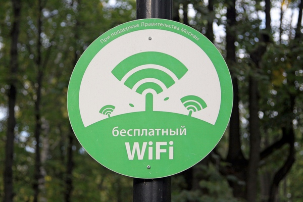 Зона бесплатного WiFi в Бабушкинском парке