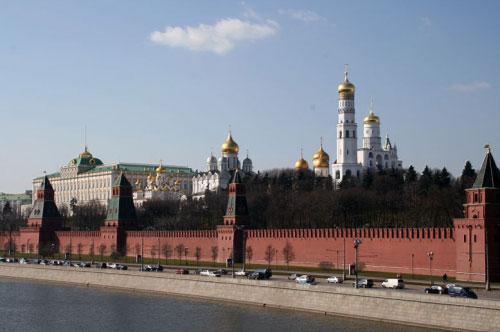 Московский Кремль - вид со стороны Москвы-реки