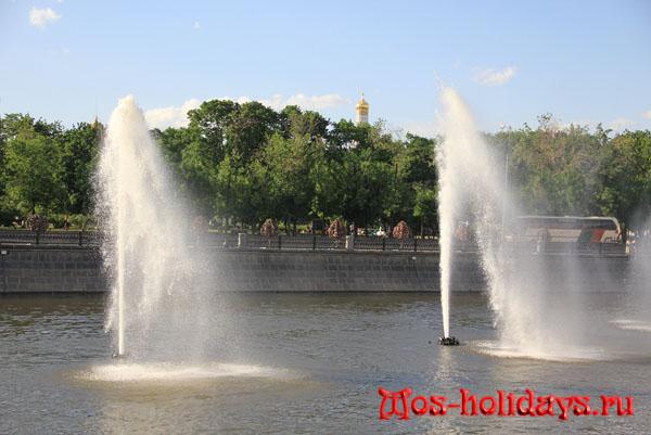 Фонтаны Водоотводного канала