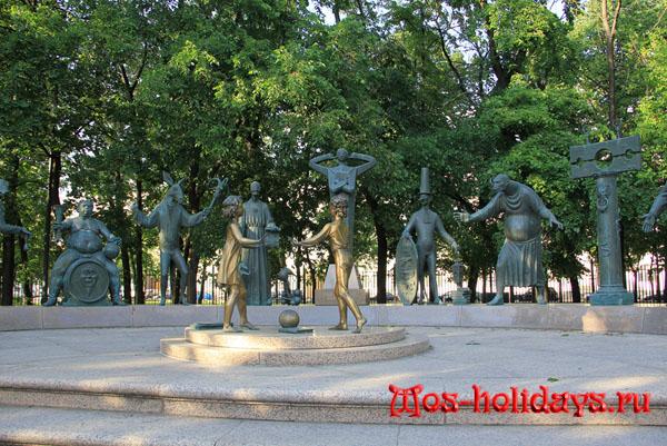 Памятник порокам на Болотной площади