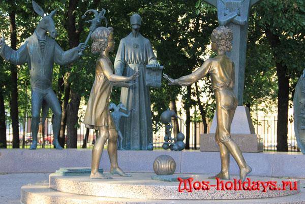 Дети - жертвы людских пороков на Болотной площади