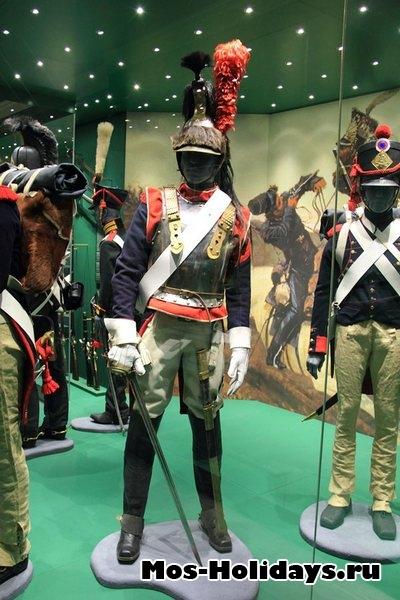 Кирасир французской армии времен войны 1812 г. Музей-панорама Бородинская битва