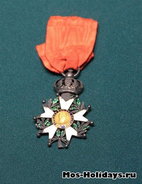 Орден Почетного легиона – главная награда французской армии времен войны 1812 г. Музей-панорама Бородинская битва