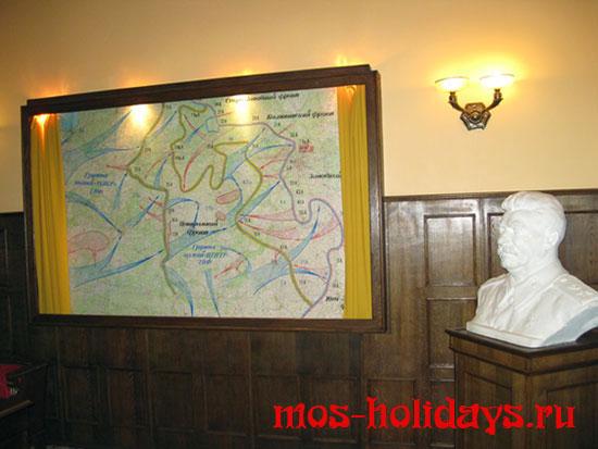 Кабинет Сталина в бункере Измайлово