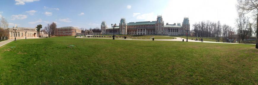 Панорама парка Царицыно