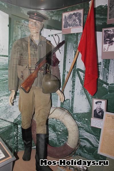 Вооружения моряков во время ВОВ. Центральный музей вооружённых сил.