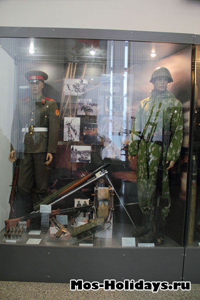 В Центральном музее вооружённых сил.