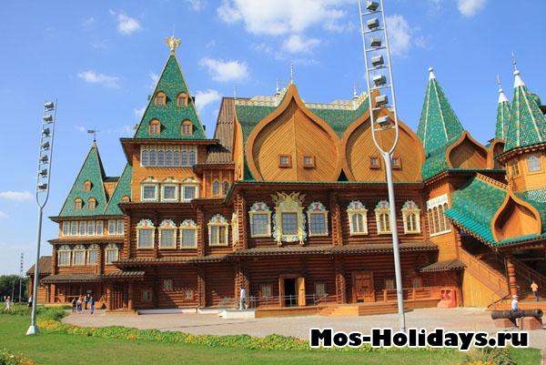 Дворец Алексея Михайловича в Коломенском