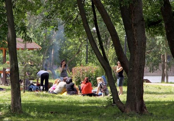 Культурный отдых в Джамгаровском парке
