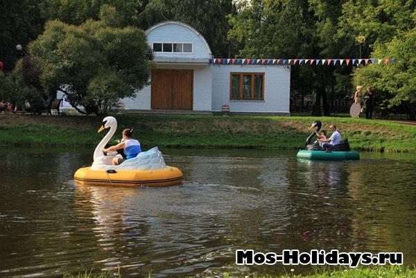 Малый пруд в Екатерининском парке