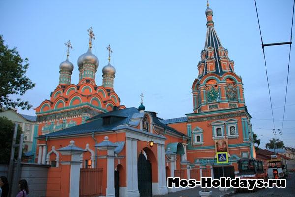 Храм Григория Неокесарийского - на пешеходной экскурсии по Москве, район Замоскворечье