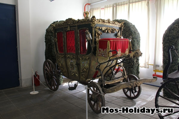 Карета из музея Мосфильма