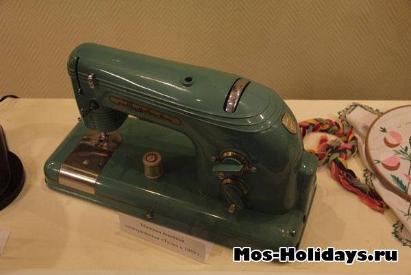 Швейная машина с экскурсии по Мосфильму