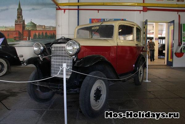 Фотография из музея ретро машин киностудии Мосфильм