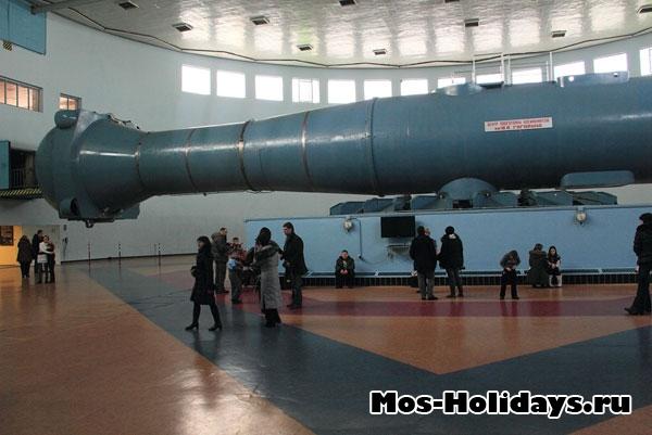 Центрифуга ЦФ-18 в ЦПК Звёздного городка