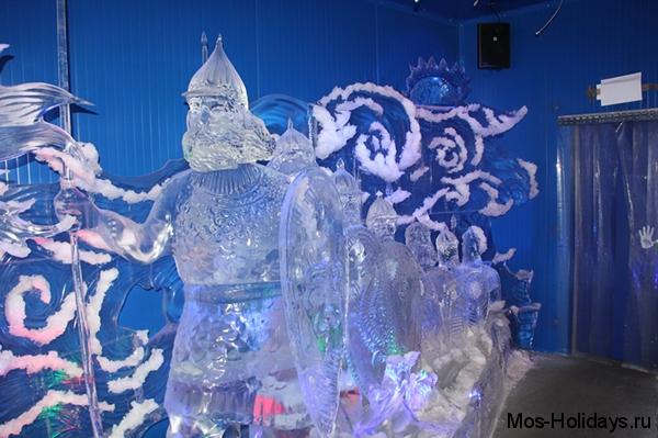 Ледяные скульптуры 33 ботарыря