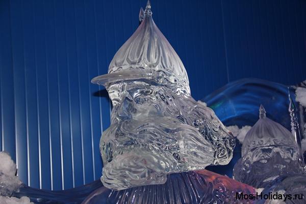 Ледяная скульптура Дядьки Черномора