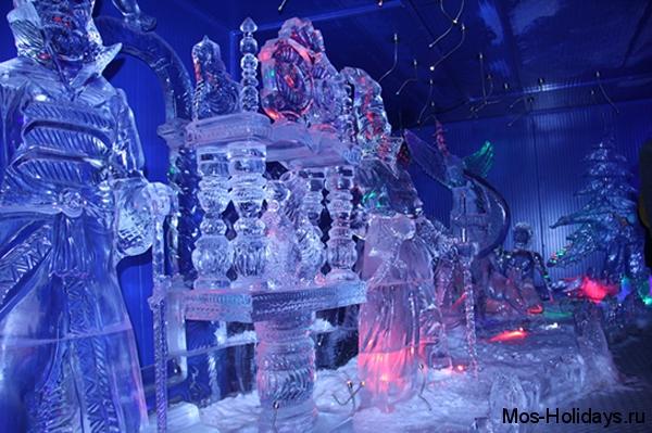 Выставка ледовых скульптур на Красной Пресне