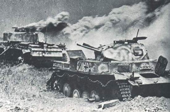 Сражение на Курской дуге