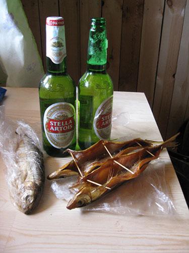 Байкальский омуль с пивом - это класс!