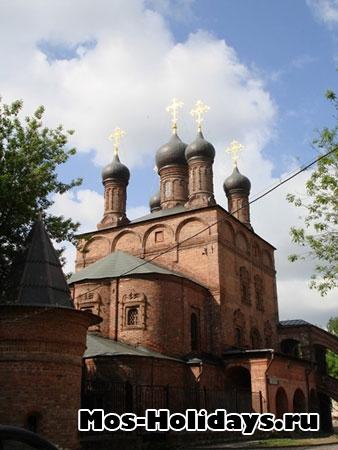 Малый Успенский собор в Крутицком подворье