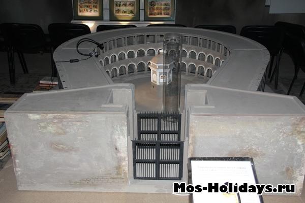Тюрьма на острове Санто-Стефано в кунсткамере на ВВЦ