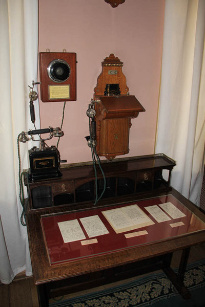 Телефон в усадьбе Ленина в Горках
