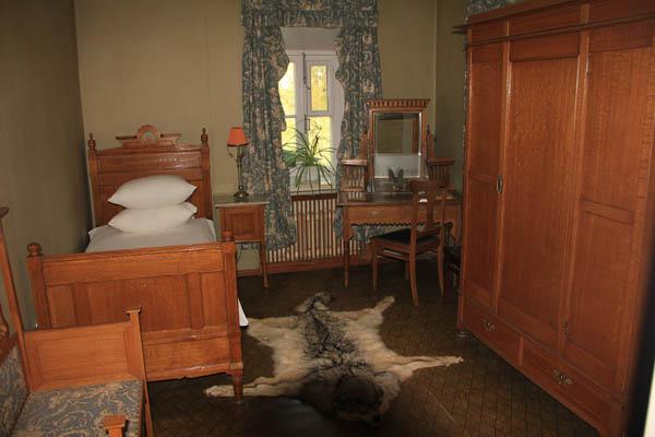 Комната Ленина в Северном флигеле в Горках