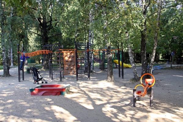 Детская площадка в Лианозовском парке