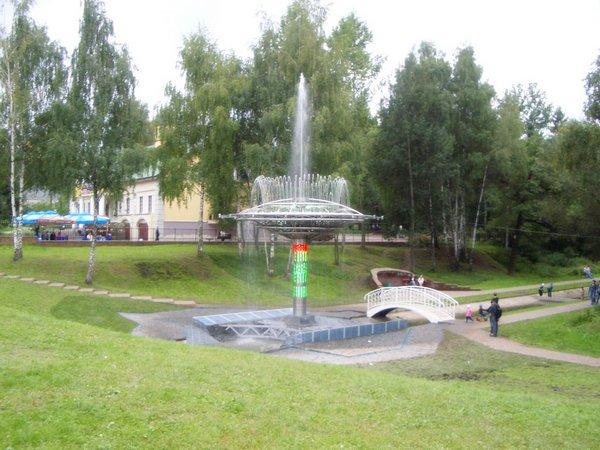 Фонтаны в Лианозовском парке