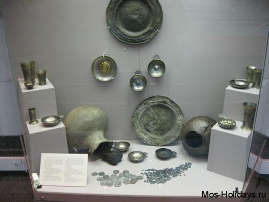 Клад, найденный в Старом Гостином Дворе