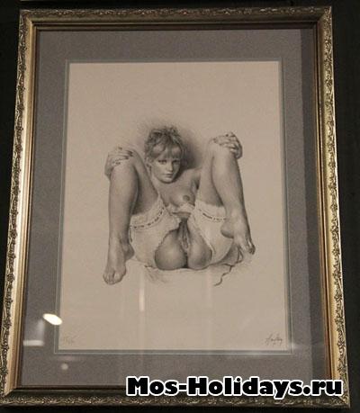 Фото из музея эротического искусства на Новом Арбате