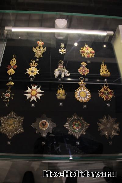 Награды в музее Отечественной войны 1812 года