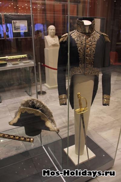Офицерский мундир из музея Отечественной войны 1812 года